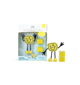 Glo Pals Glo Pals - Alex + 2 Light-Up Cubes
