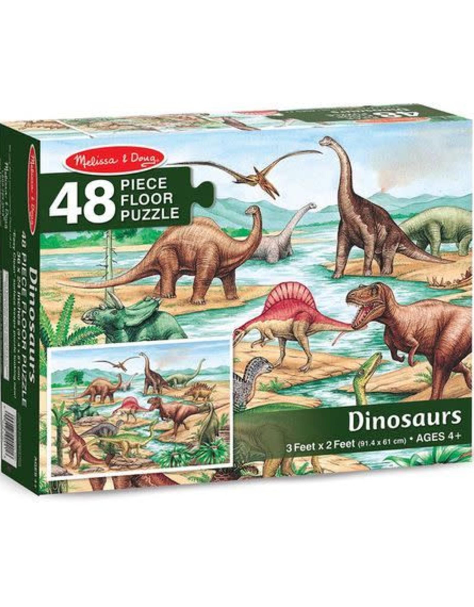 Melissa & Doug Dinosaurs 48pc Floor Puzzle