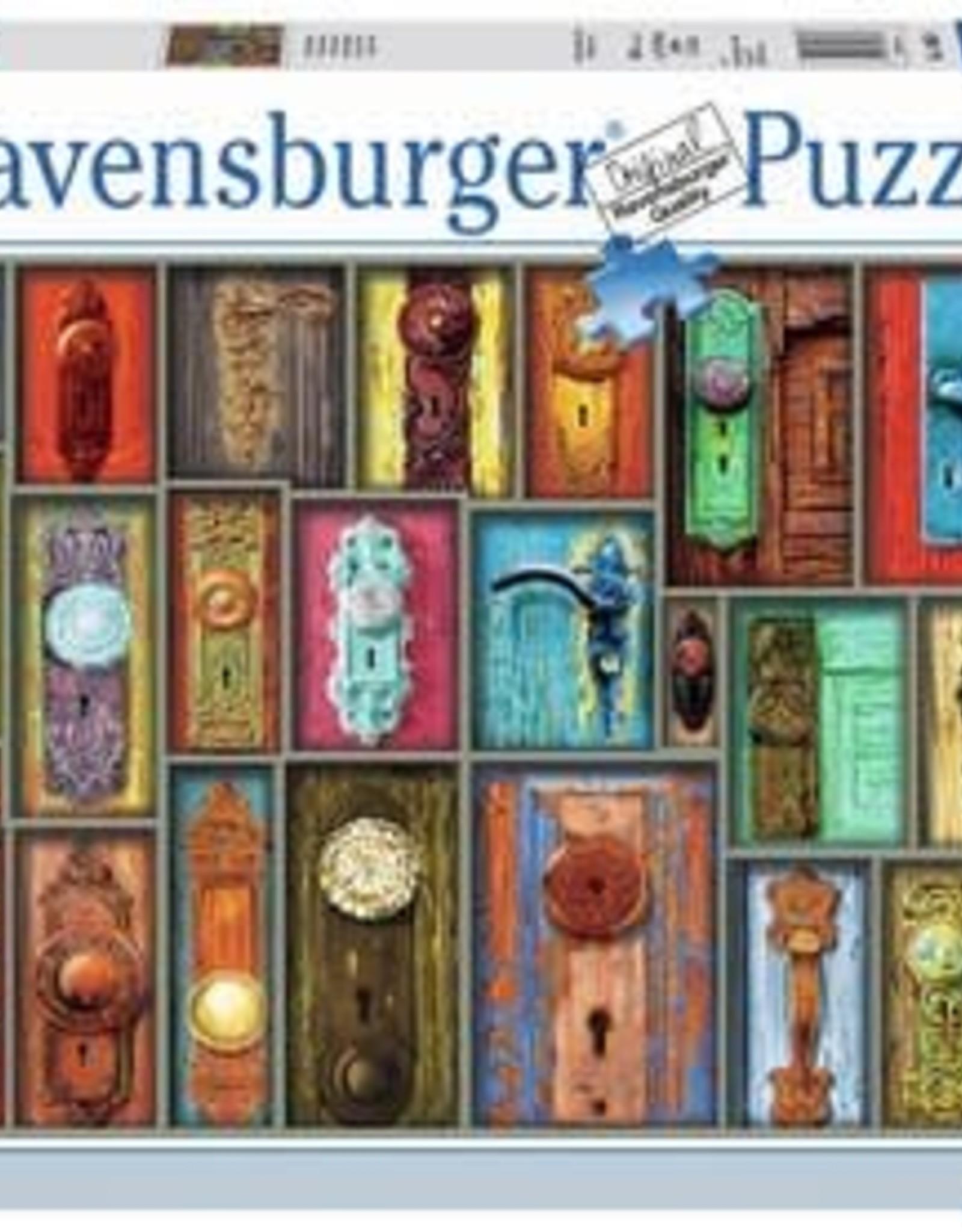 Ravensburger Antique Doorknobs 1000pc Puzzle