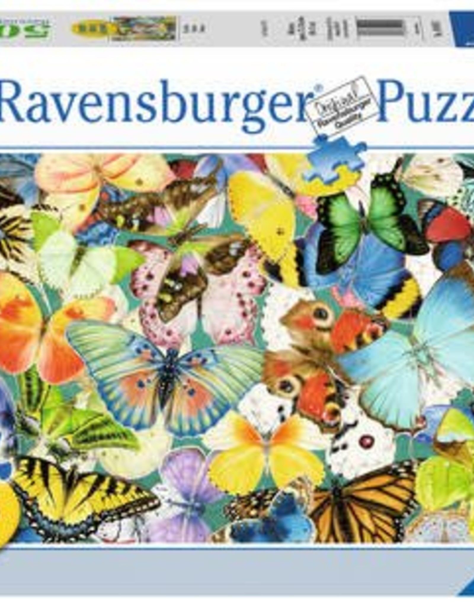 Ravensburger Butterflies 500pc Puzzle Large Format