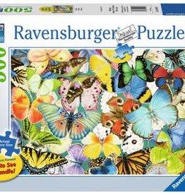 Ravensburger Butterflies 500pc Puzzle Large Format