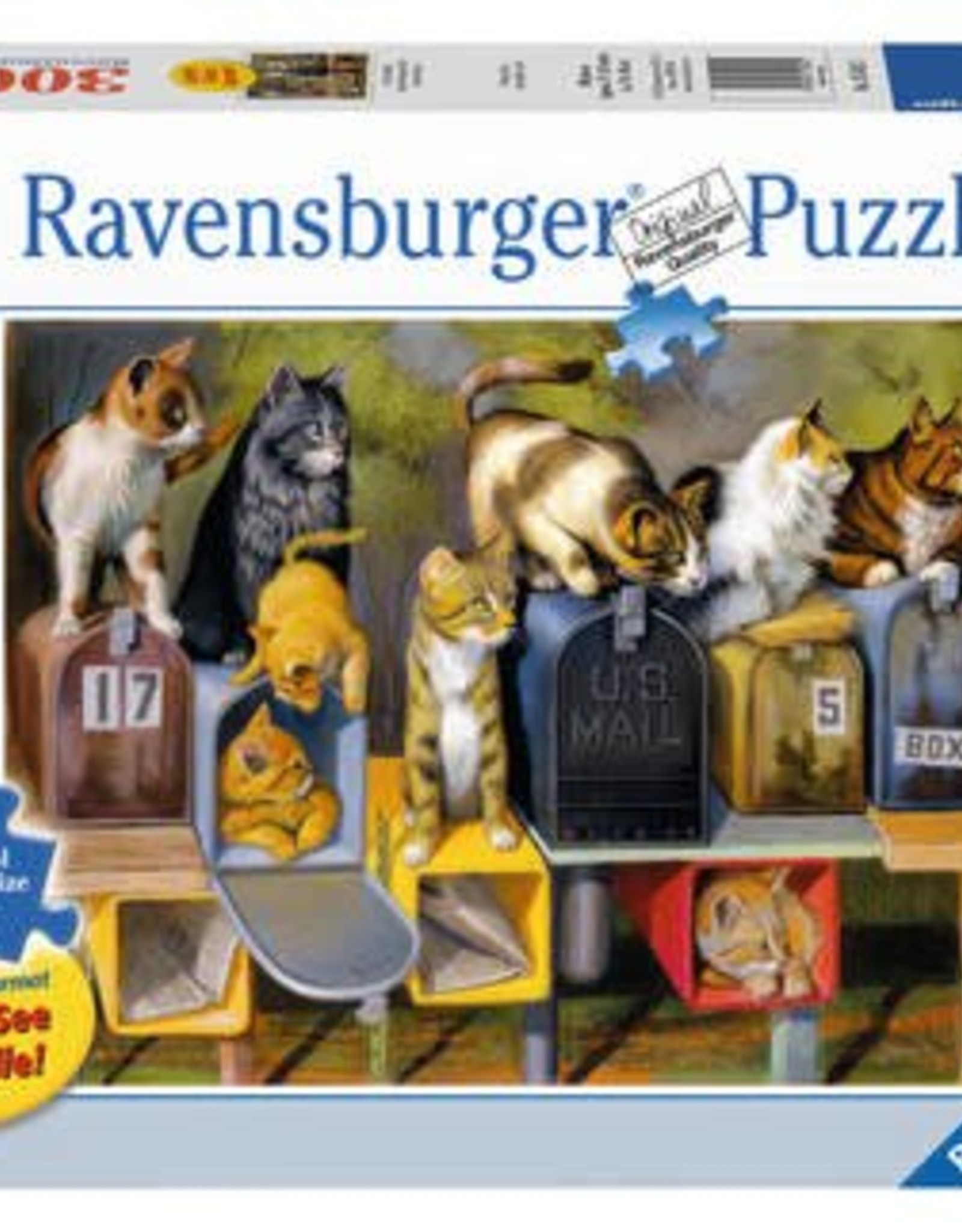 Ravensburger Cat's Got Mail 300pc Puzzle Large Format