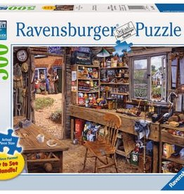 Ravensburger Dad's Shed 500pc Puzzle Large Format