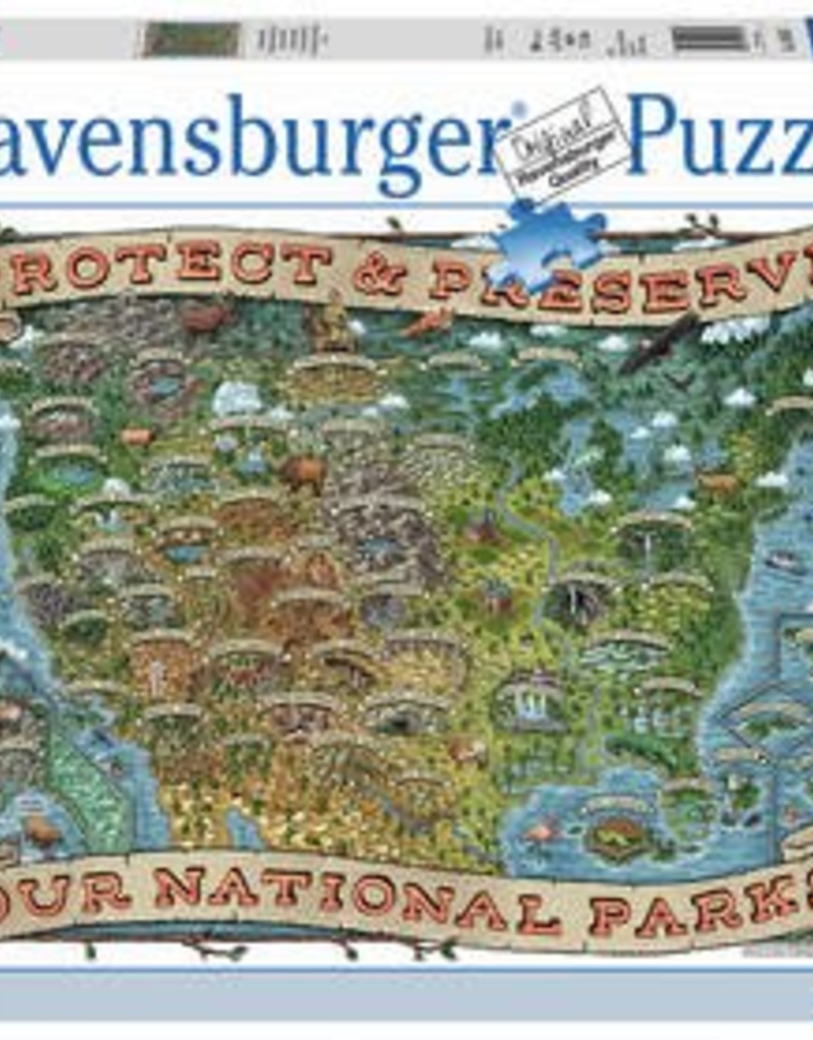 Ravensburger Protect and Preserve USA 1000pc Puzzle