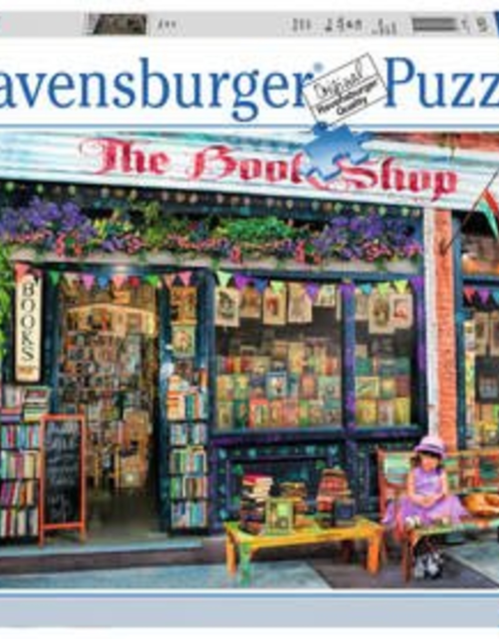 Ravensburger The Bookshop 1000pc Puzzle