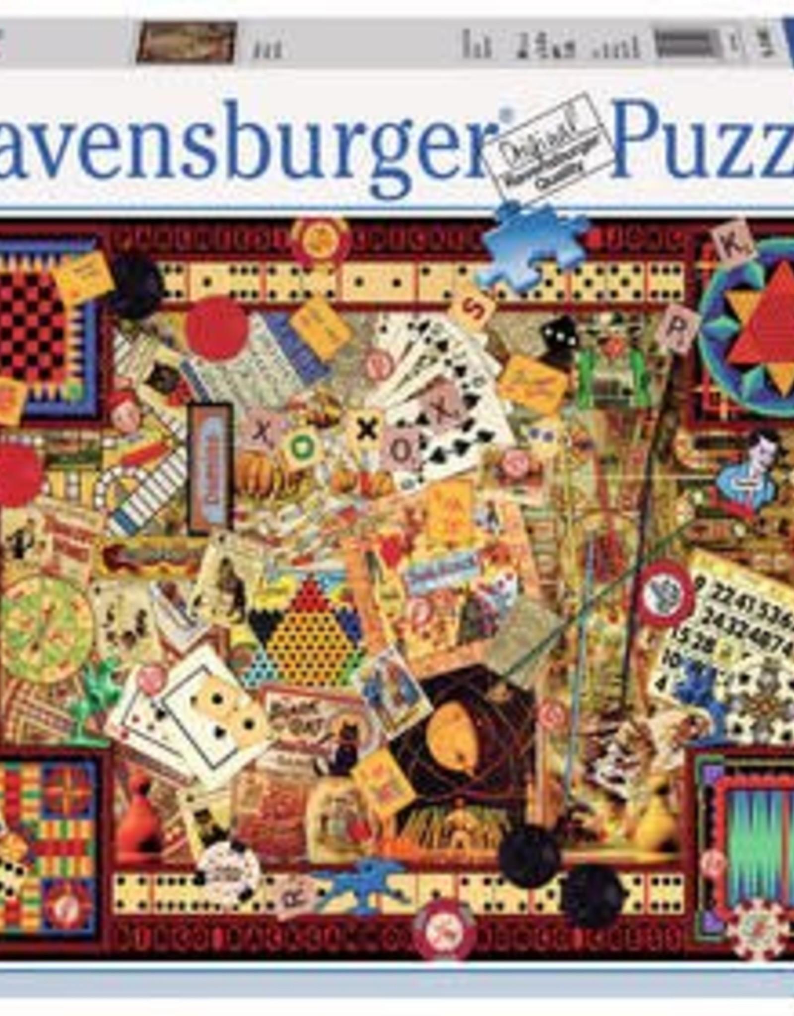 Ravensburger Vintage Games 1000pc Puzzle