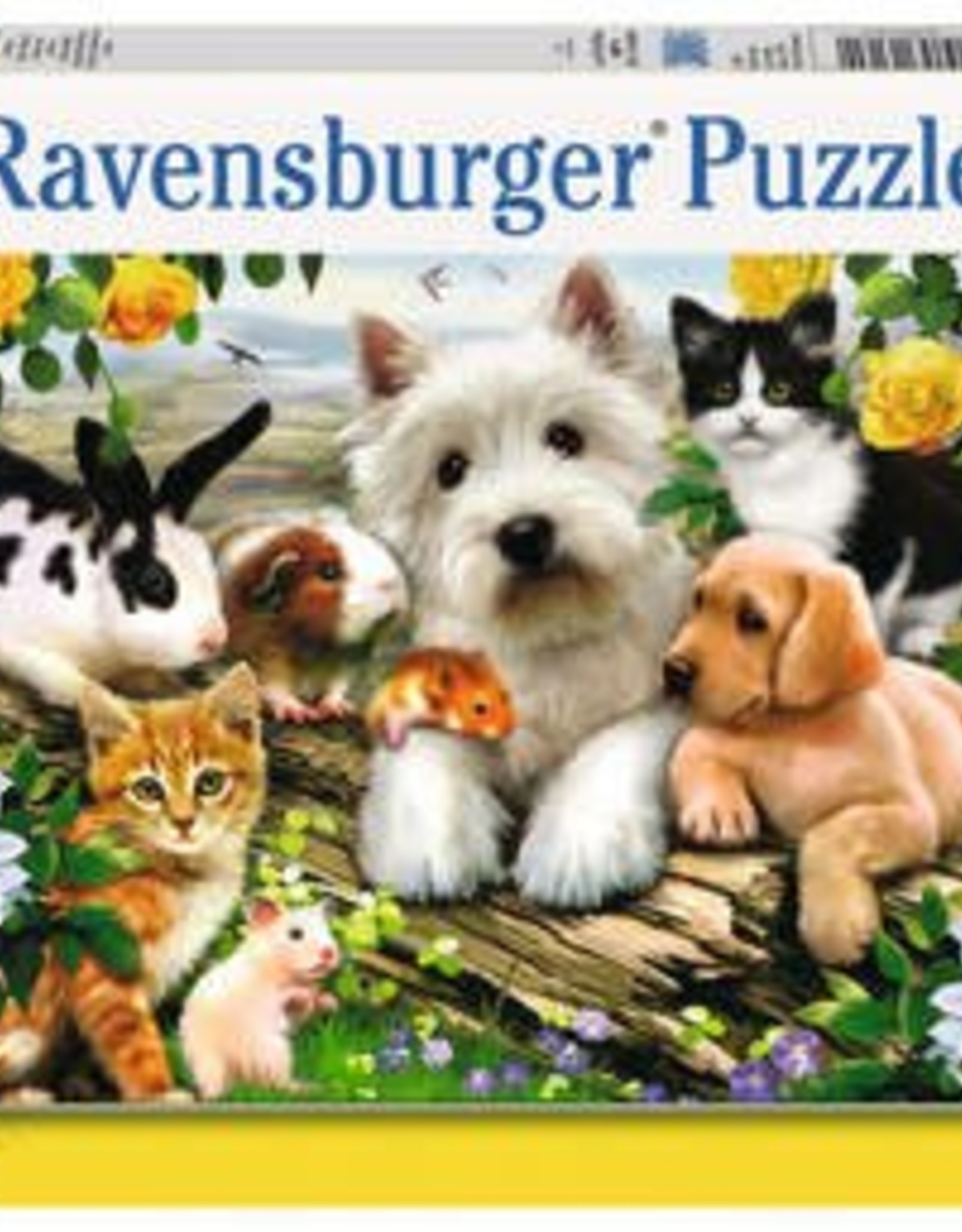 Ravensburger Happy Animal Buddies 300pc Puzzle