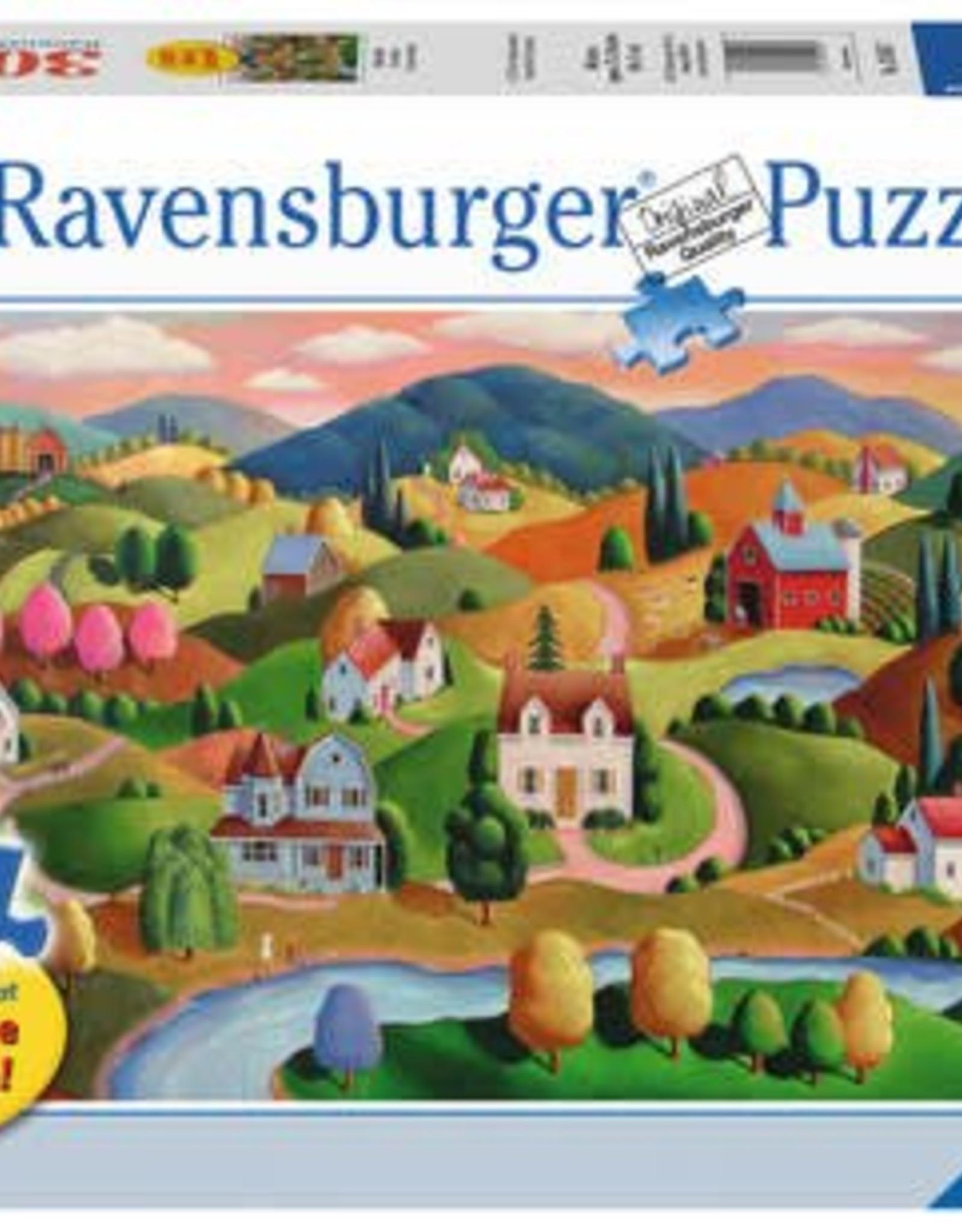 Ravensburger Rolling Hills 300pc Puzzle Large Format