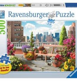 Ravensburger Rooftop Garden 500pc Puzzle Large Format