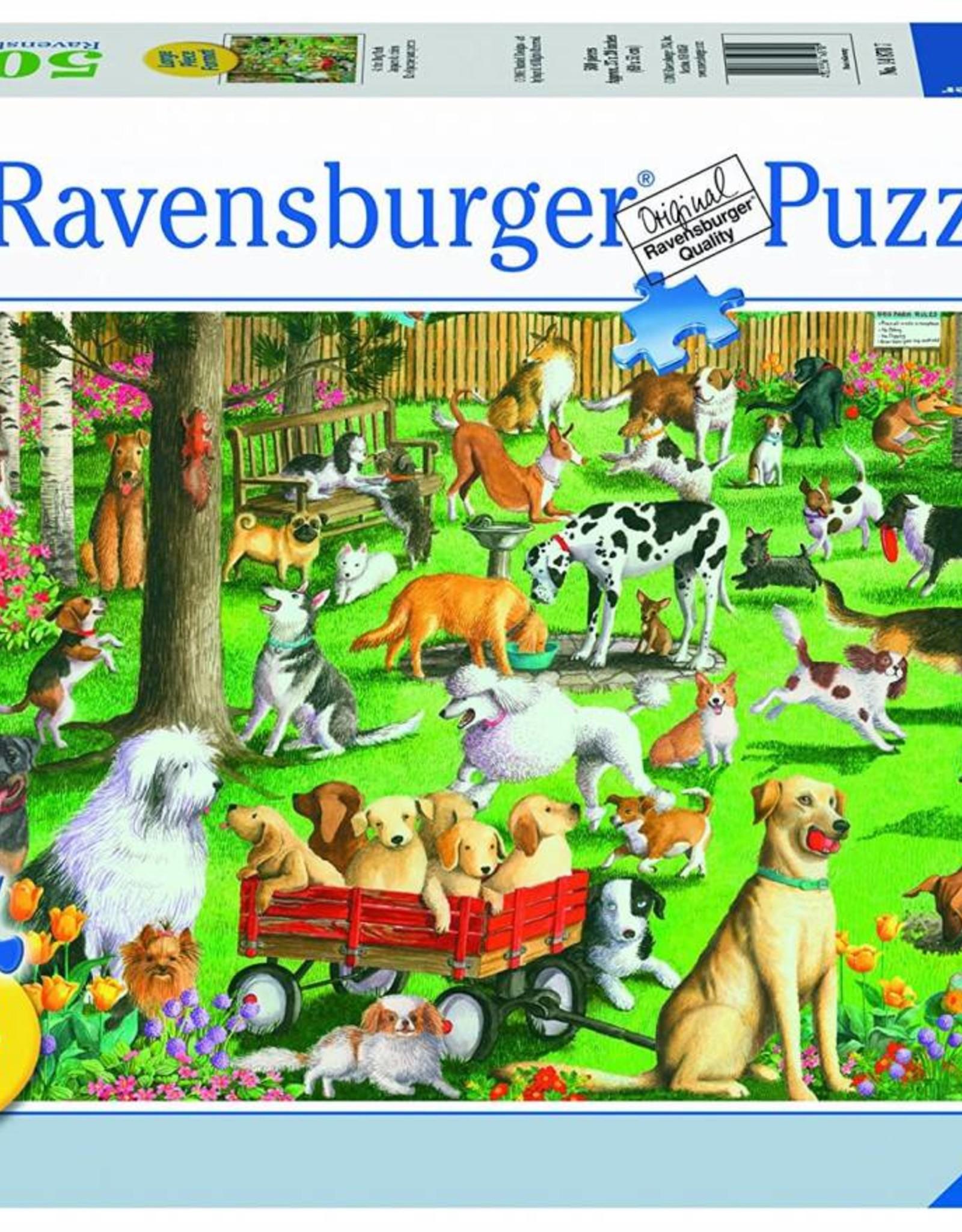 Ravensburger At the Dog Park 500pc Puzzle Large Format