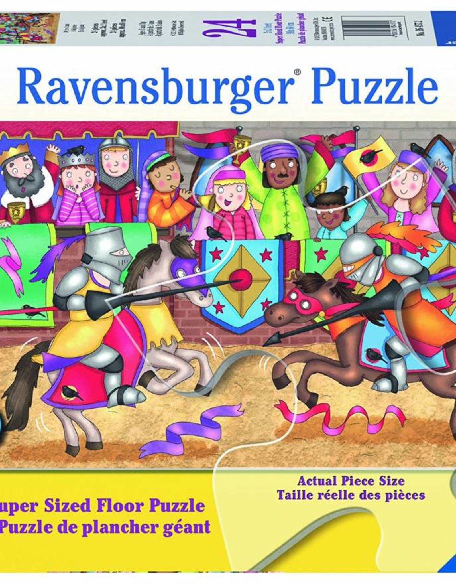 Ravensburger At the Joust 24pc Floor Puzzle