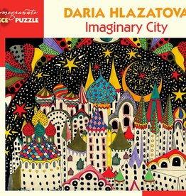 Pomegranate Puzzle Imaginary City