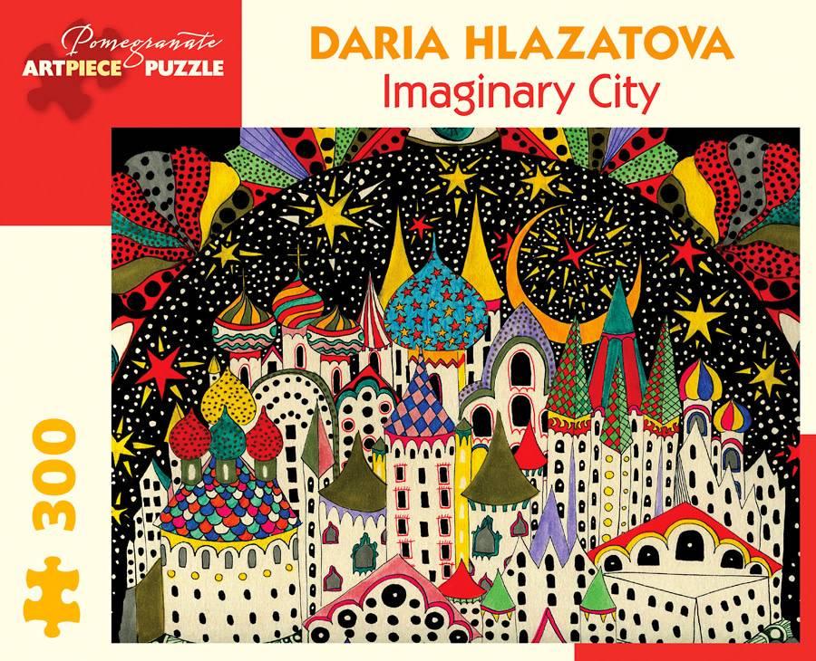 Pomegranate Pomegranate Puzzle Imaginary City