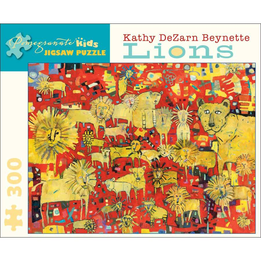 Pomegranate Pomegranate Kids Puzzle Lions