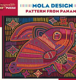 Pomegranate Puzzle - Mola Design - Pattern from Panama