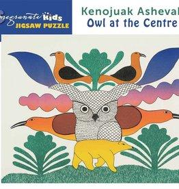 JK018 Kenojuak Ashevak - Owl at the centre
