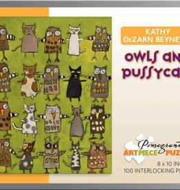 Pomegranate Puzzle Owls and Pussycat