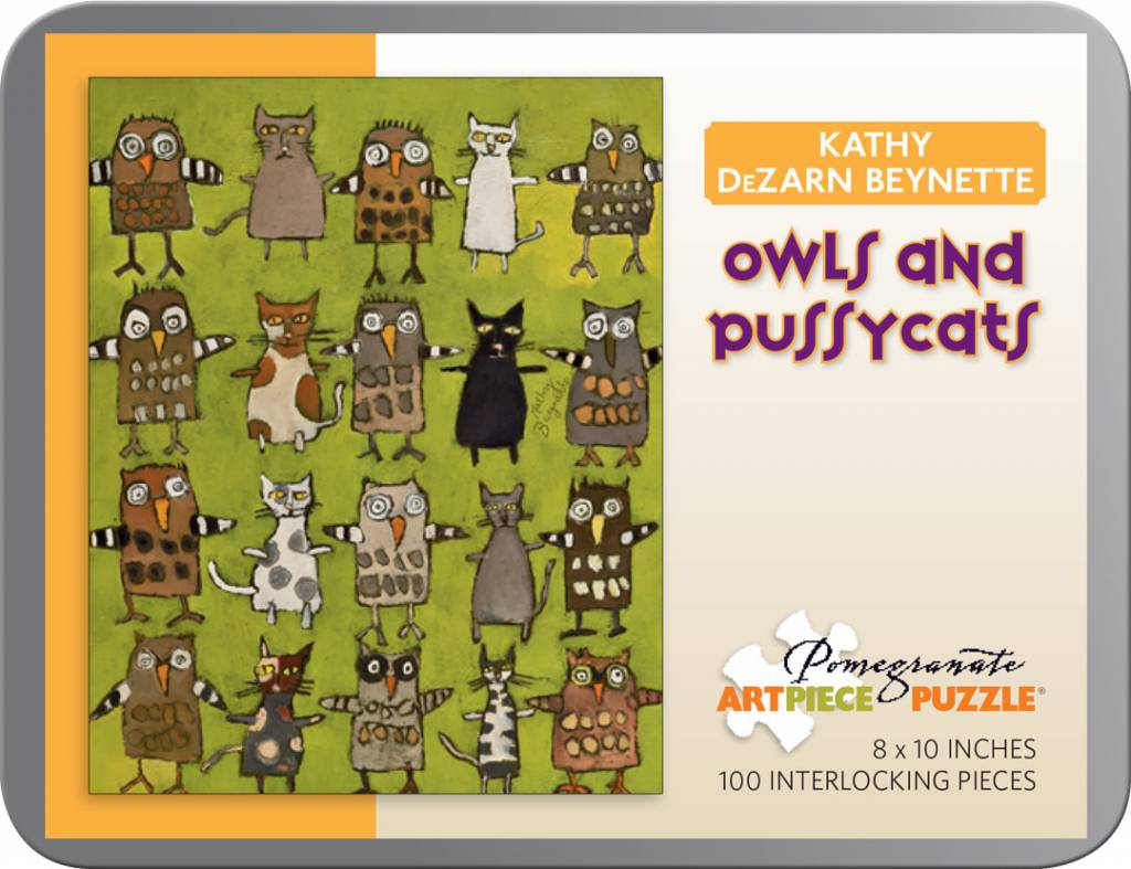 AA791 Owls and pussycat 100pcs