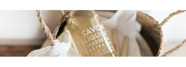 Compagnie de Provence - Savon liquide 300ml Fleur de coton