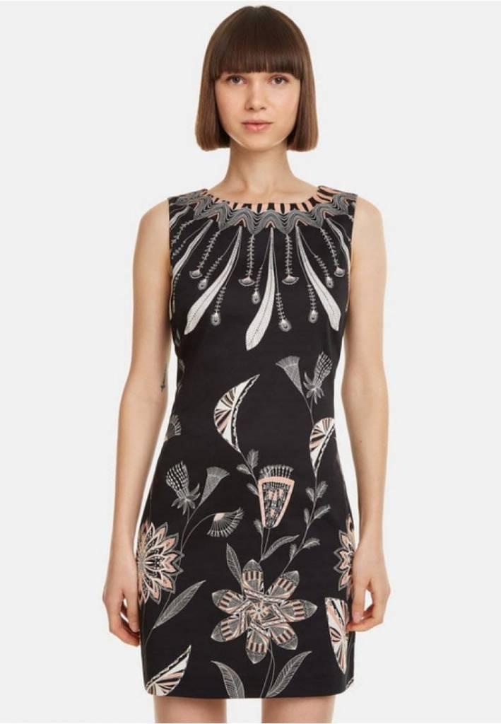Desigual Desigual Dress feathers and flowers Kira