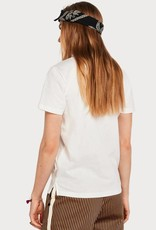 Maison Scotch Maison Scotch  T-shirt Lazy Day