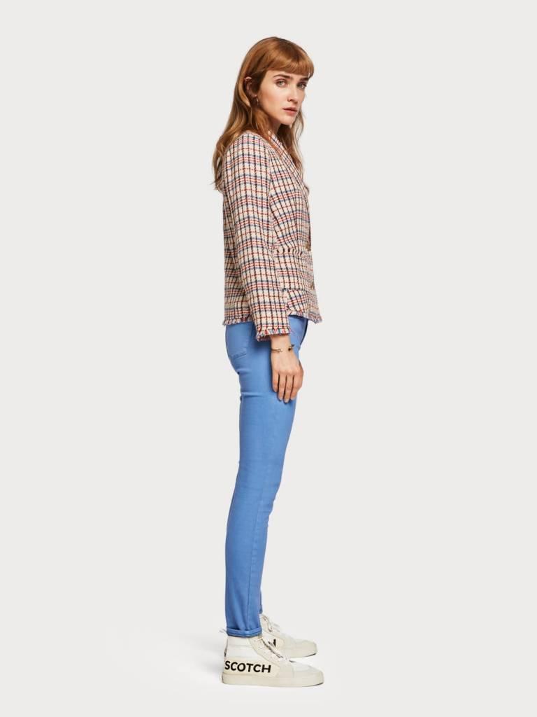 Maison Scotch Maison Scotch La Bohemienne - Tencel Trousers Mid rise skinny fit