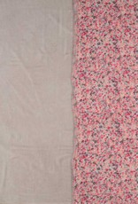 Fraas Fraas Stole with floral print in a modal blend