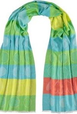 Fraas Fraas Dotted Love Viscose Woven Wrap