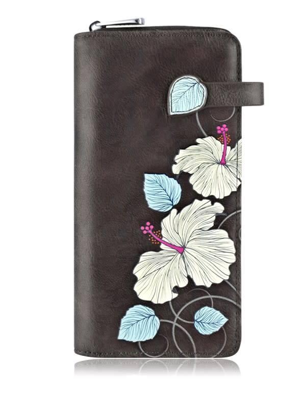 Espe Espe Hibiscus Clutch Wallet