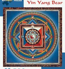 Pomegranate Puzzle Yin Yang Bear