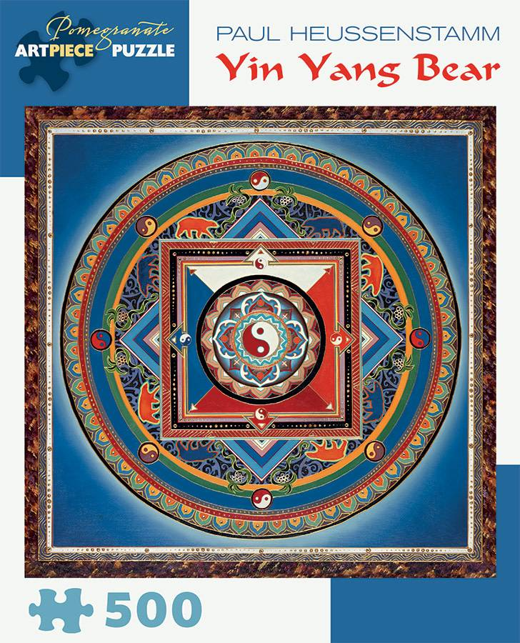 Pomegranate Pomegranate Puzzle Yin Yang Bear