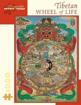 Pomegranate Pomegranate Puzzle Tibetan Wheel of Life