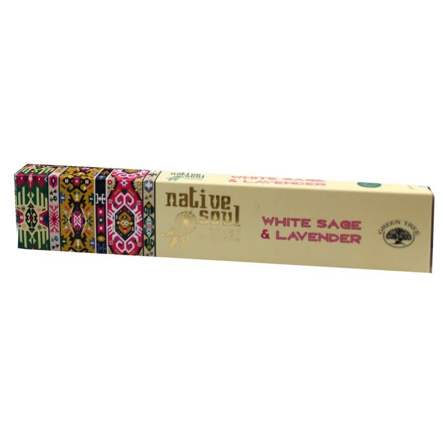 Incense Native Soul White Sage & Lavender 15gr