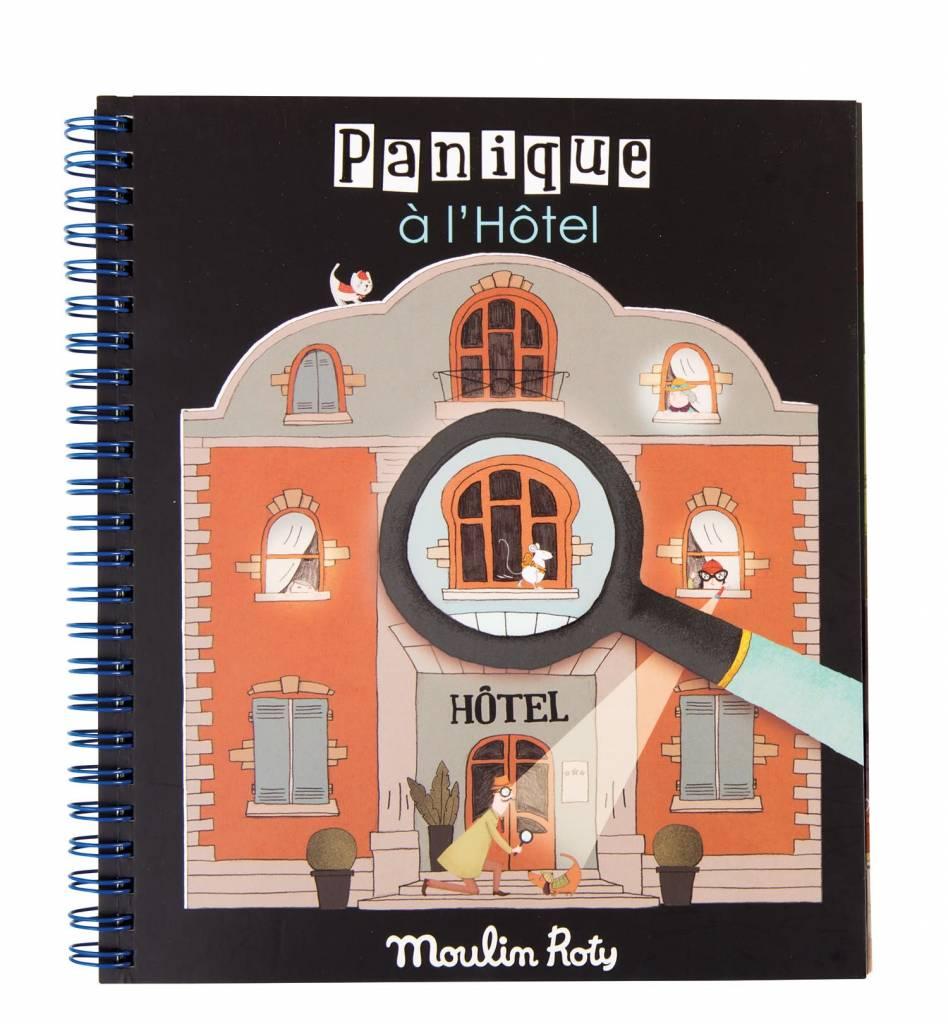 Moulin Roty Moulin Roty Les Petites merveilles - Livre  loupe magique