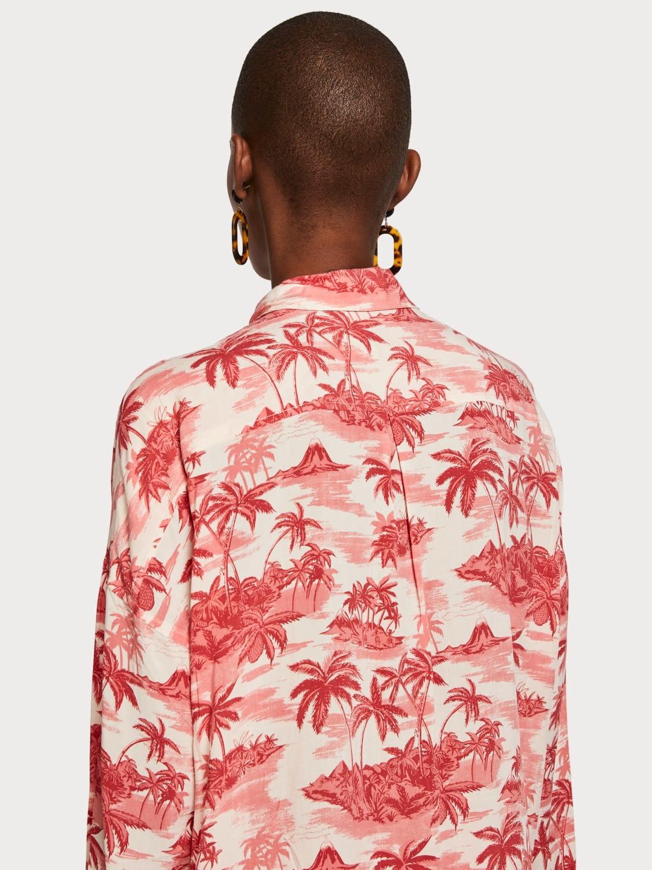 Maison Scotch Maison Scotch Tropical Print Shirt