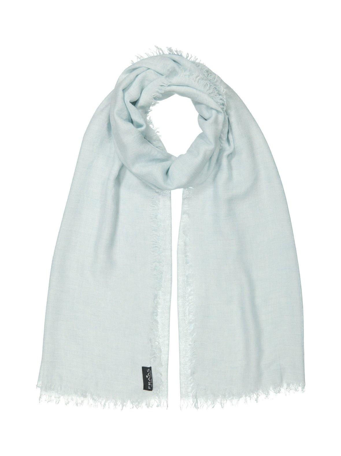 Fraas Fraas Solid Viscose Wool Blend Wrap