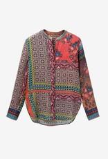 Desigual Desigual Patchwork Print Shirt Magnolia