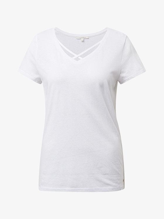 Tom Tailor T-shirt col V