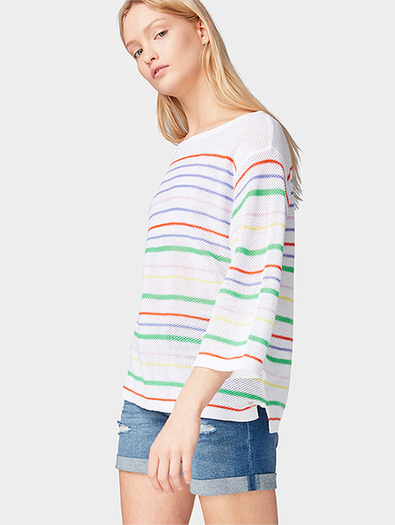 Tom Tailor Tom Tailor Pullover with stripes
