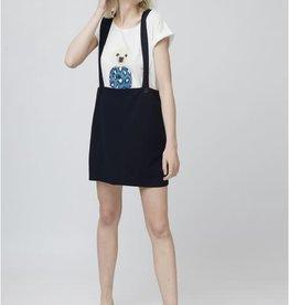 Compania Fantastica Compania Fantastica Marine Pinafore dress