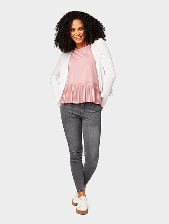 Tom Tailor Tom Tailor Ruffle top