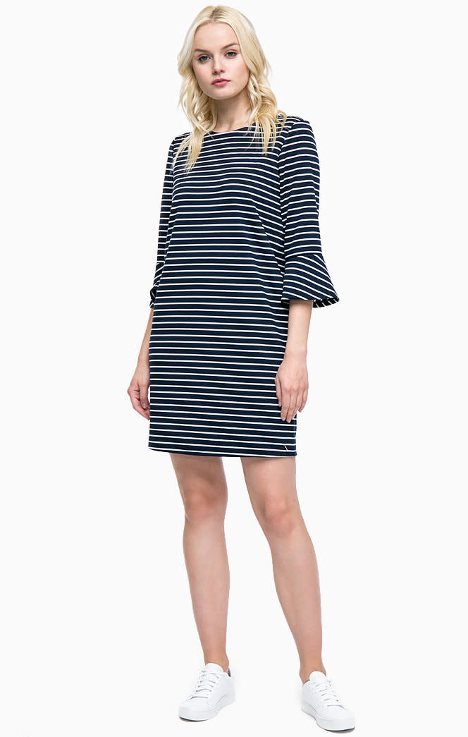 Tom Tailor Stripe jersey dress