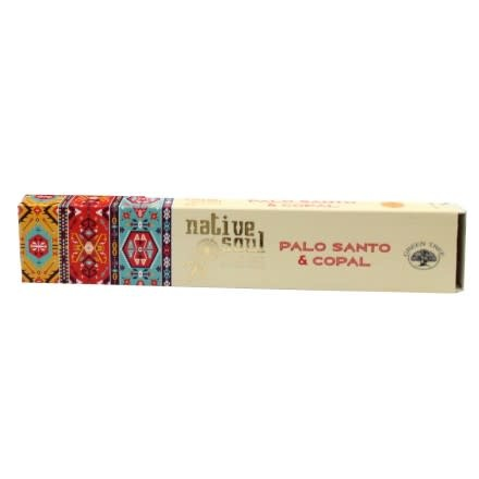 Incense Native Soul Palo santo & Copal 15gr