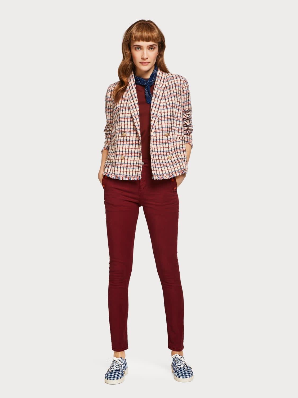meilleure qualité pour mieux choisir styles divers High rise skinny fit pants tencel 149952