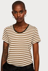 Maison Scotch Maison Scotch Basic Striped T-Shirt