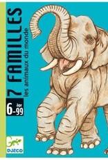 Djeco Djeco 7 familles - Animaux du monde