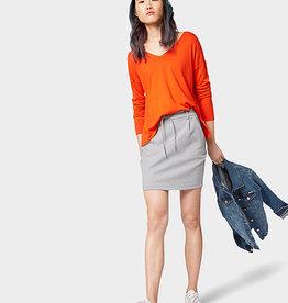Tom Tailor To Tailor Orange v-neck pullover