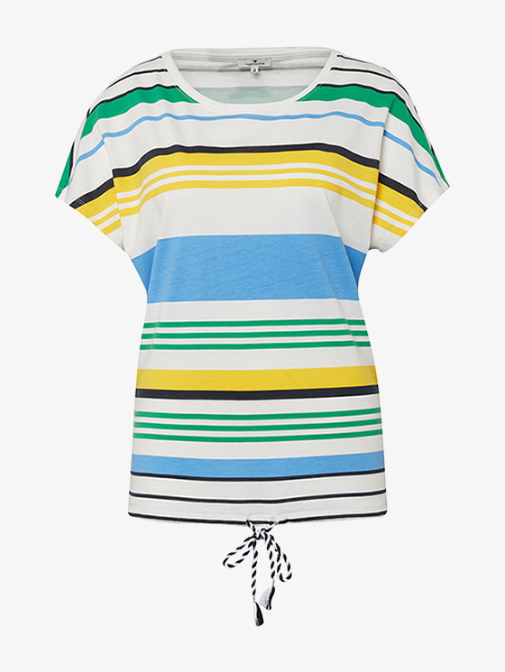 Tom Tailor Tom Tailor Sporty striped T-shirt