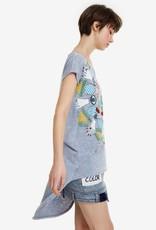 Desigual Desigual T-shirt print Chester