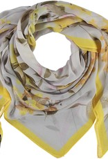 Fraas Fraas Square floral bouquet Scarf